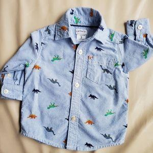 Carter's Dinosaur Shirt